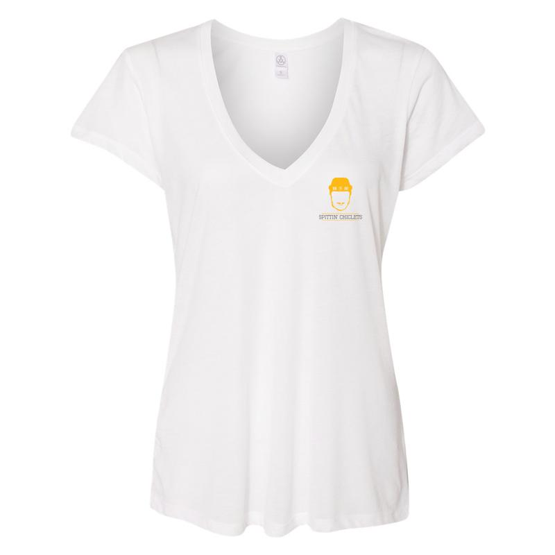 low priced a8d8e 10060 Spittin Chiclets Women's V-Neck Tee