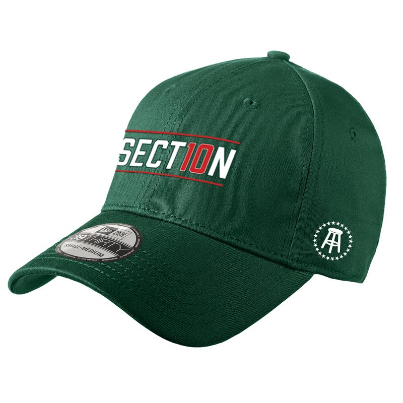 Section 10 Fitted Baseball Hat