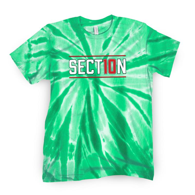 Section 10 Tie Dye Tee