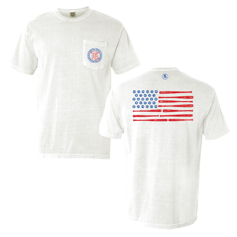 Starting 9 Flag Pocket Tee