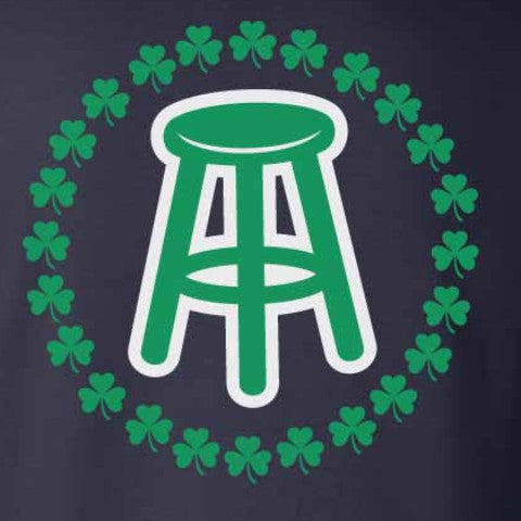 Stool Clover Long Sleeve Tee (Navy)