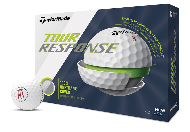 TaylorMade x Barstool Tour Response Golf Balls - Set of 1 Dozen