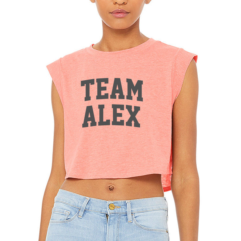Team Alex Cropped Tank