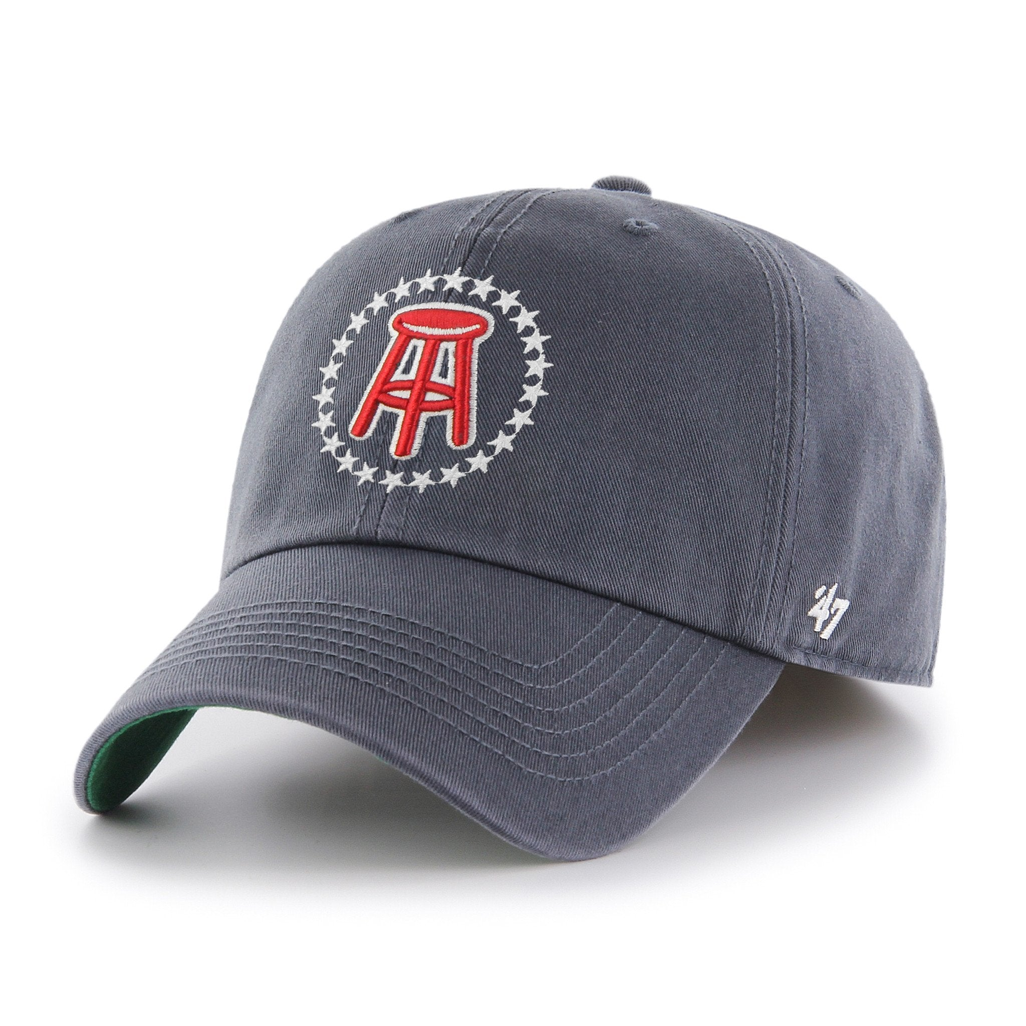 Navy Stool / Star 47 Brand Hat (Fitted)