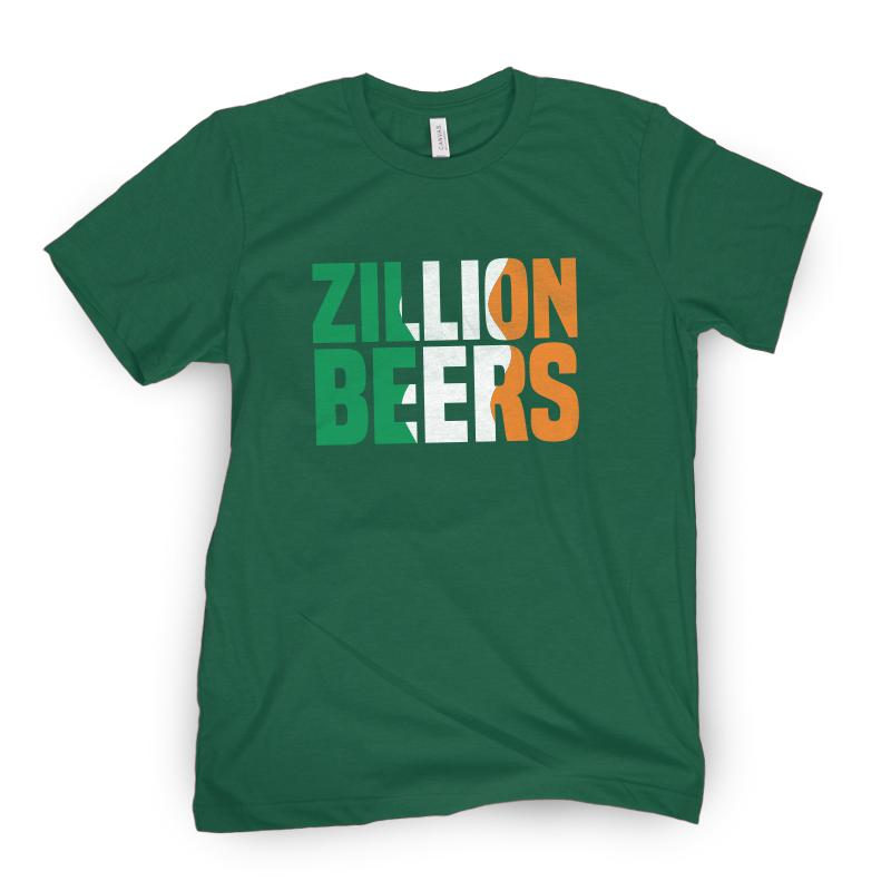 Zillion Beers Ireland Tee
