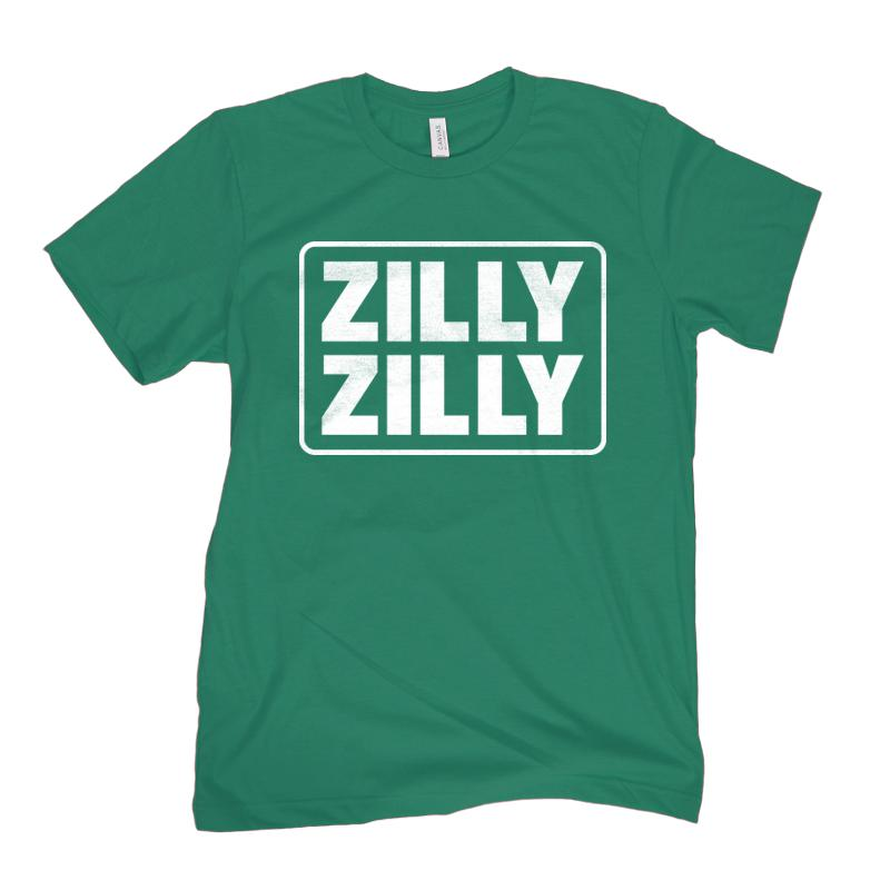 Zillion Beers Zilly Zilly Tee (Green)