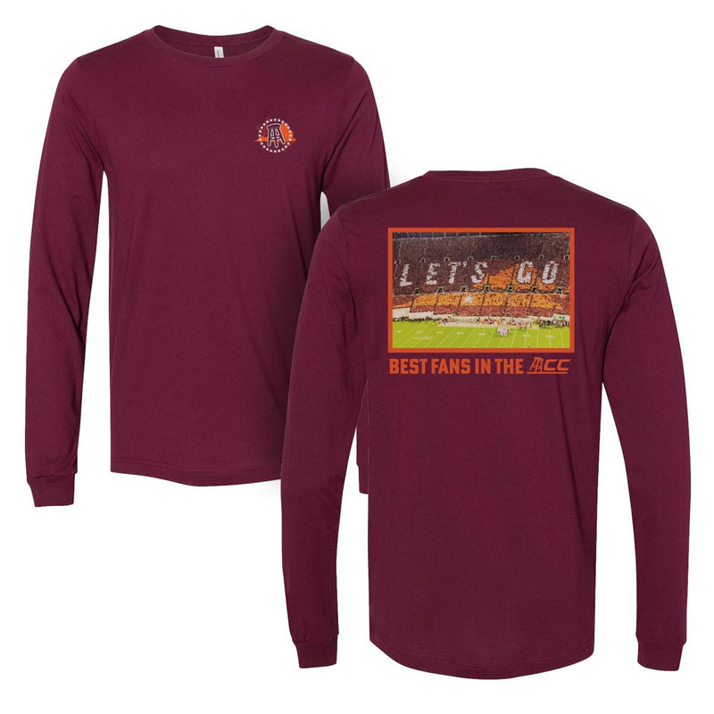 Best Fans VT Long Sleeve Tee