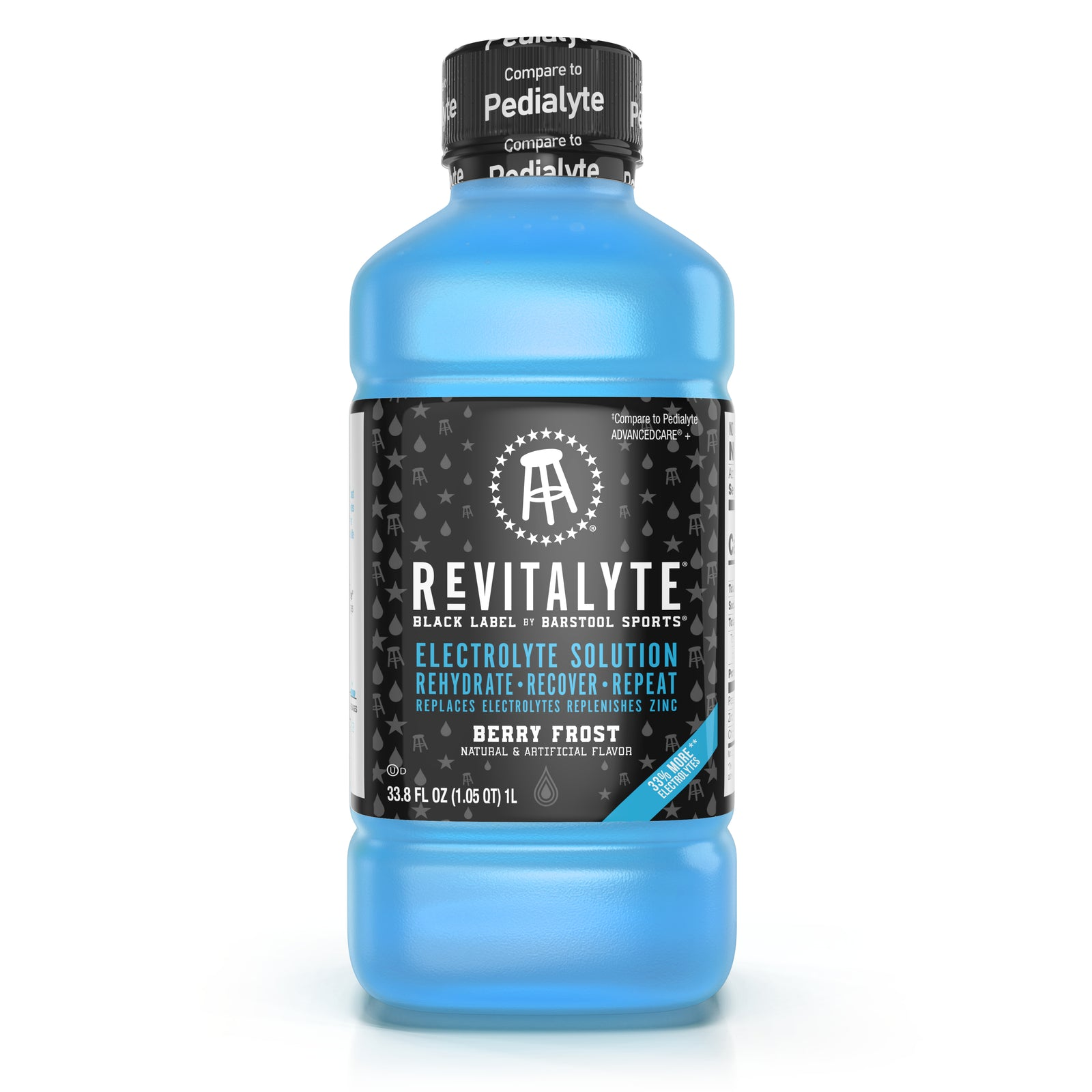 Revitalyte Black Label 1-Liter 6 Pack