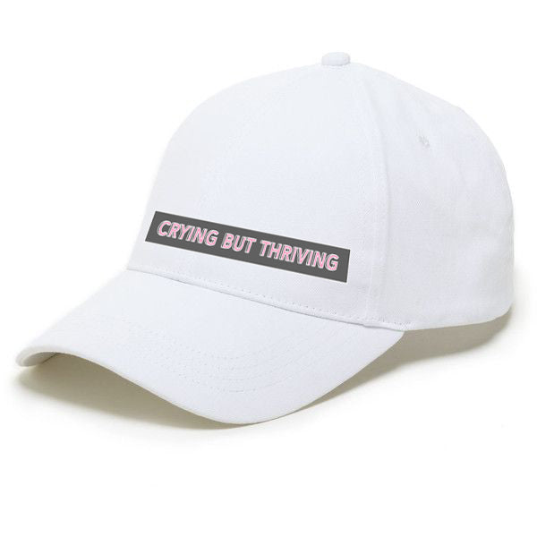 22dd5ecd0bee5 Crying But Thriving Dad Hat – Barstool Sports