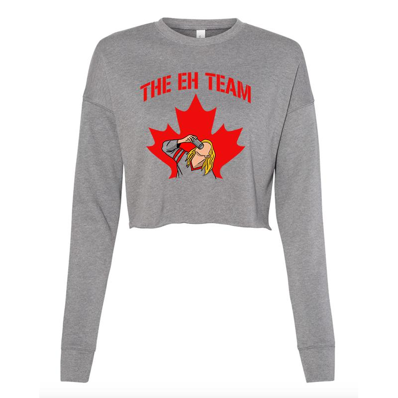 The Eh Team Cropped Crewneck