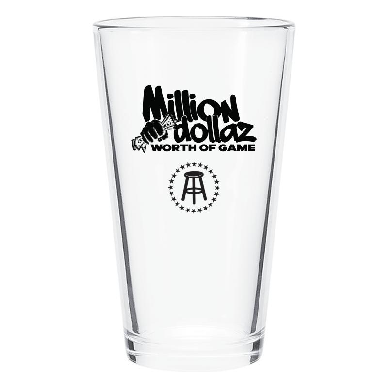 Million Dollaz Worth of Game Pint Glass 2 Pack