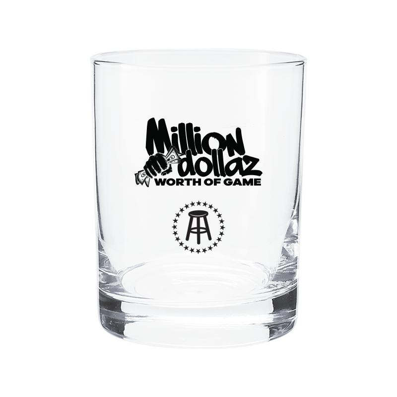 Million Dollaz Worth of Game Rocks Glass 2 Pack