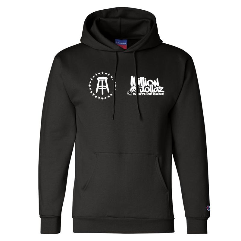 Million Dollaz Worth of Game Left Chest Logo Hoodie