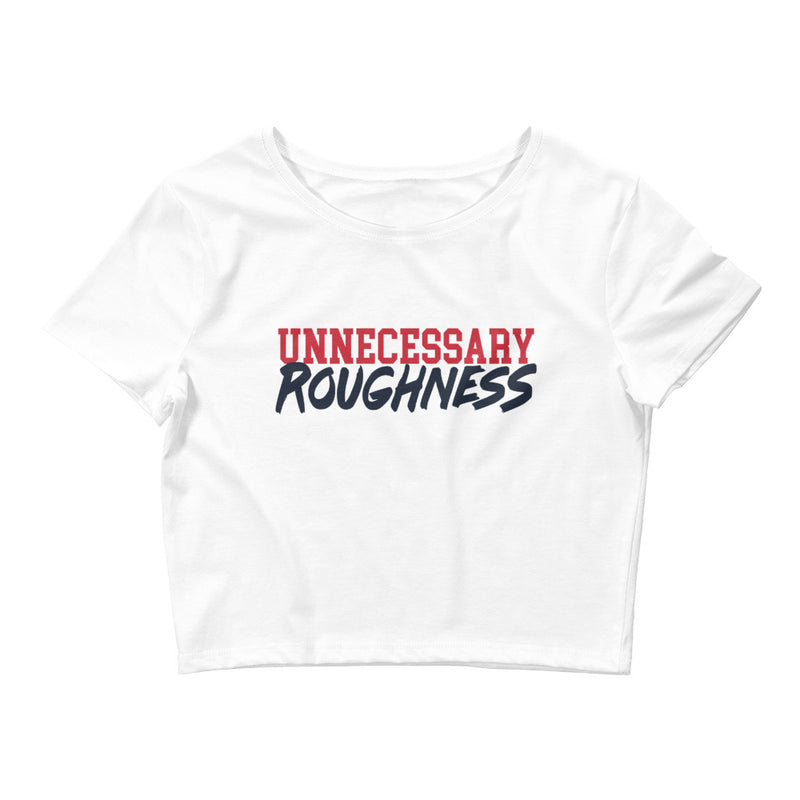 Unnecessary Roughness Cropped Tee