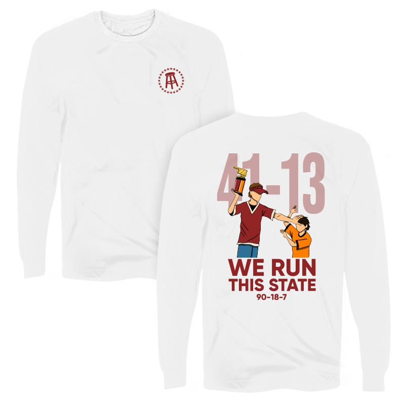 We Run This State Long Sleeve Tee