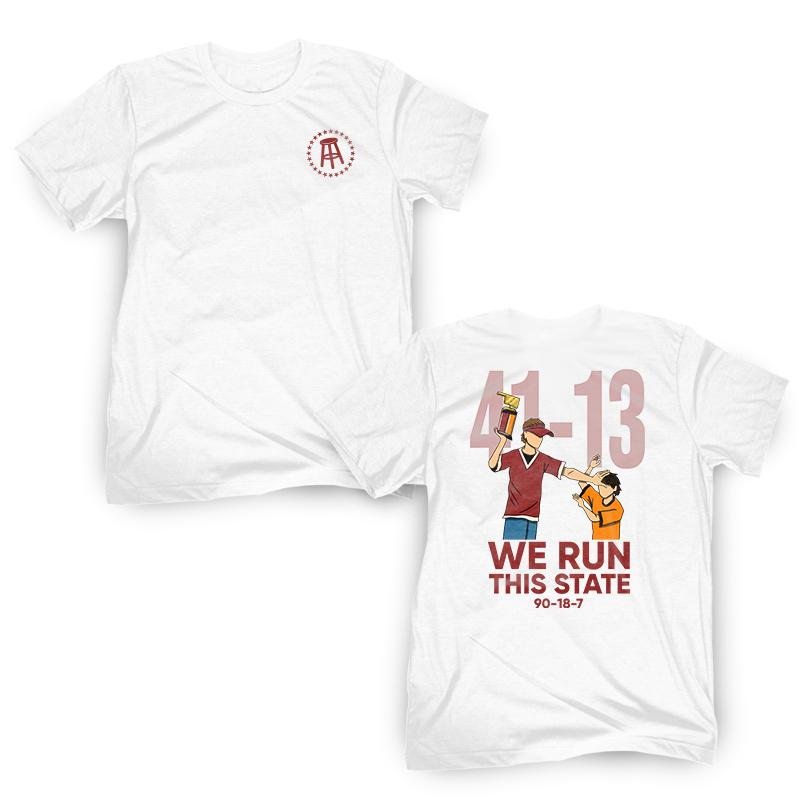 We Run This State Tee