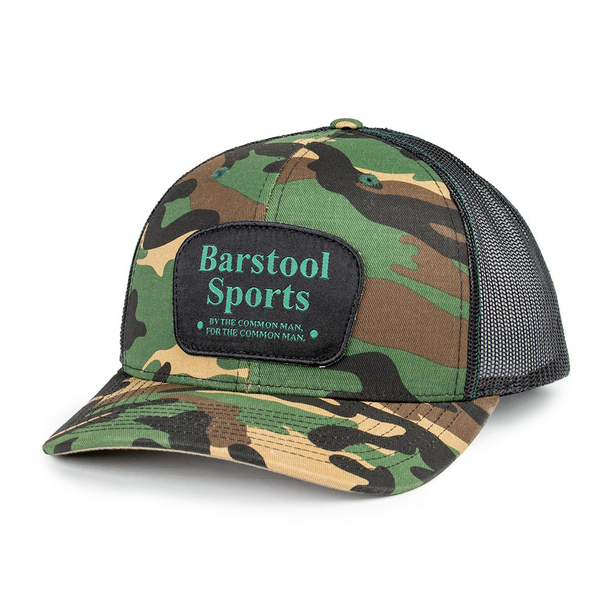 Barstool Sports Richardson Camo Trucker Hat