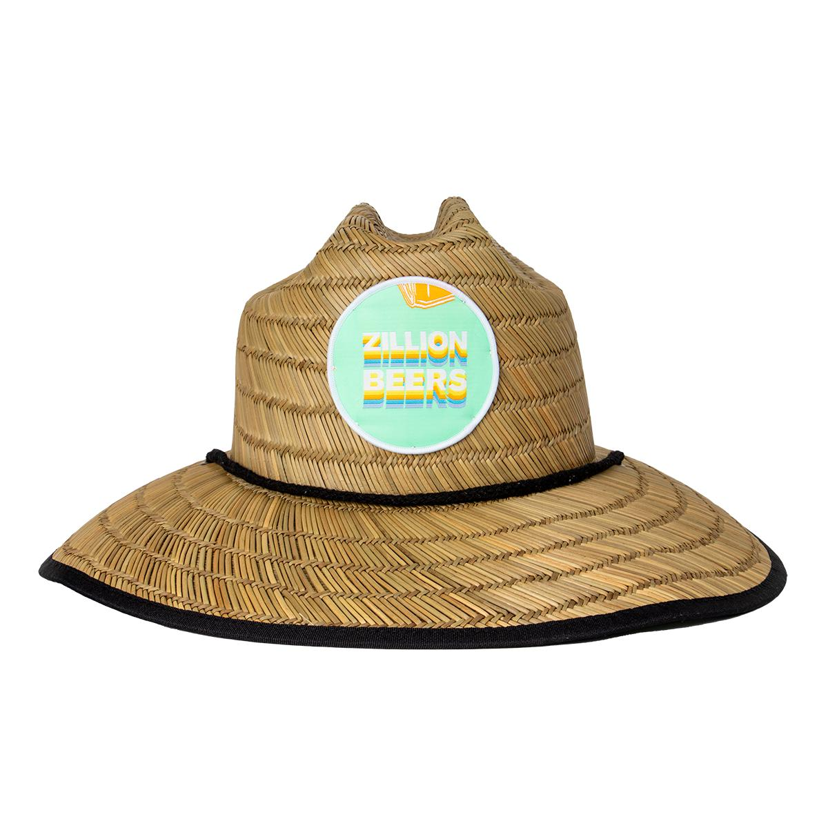 Zillion Beers Straw Lifeguard Hats