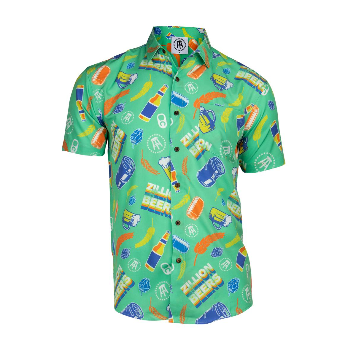 Tropical Bros x Zillion Beers Hawaiian Shirt