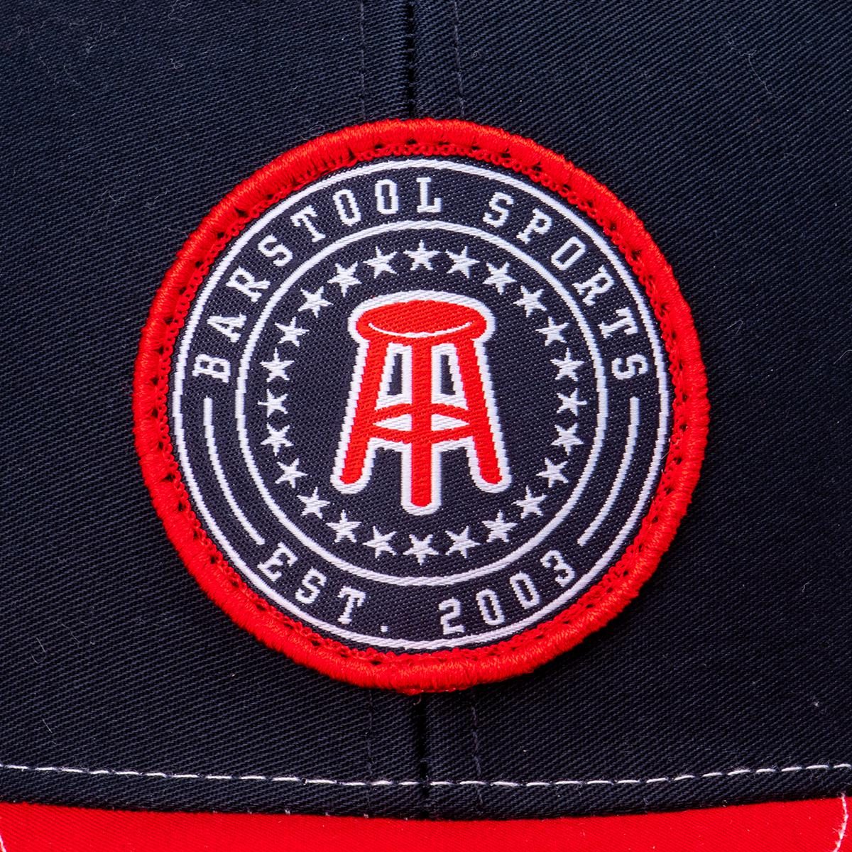 Barstool Sports Mesh Patch Hat (White)