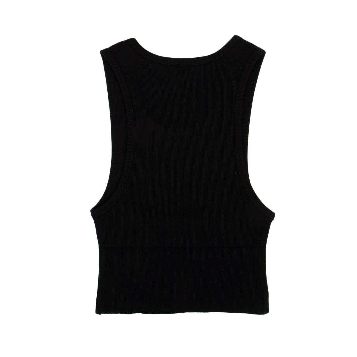 Blocked Cropped Tank