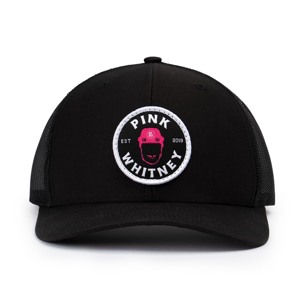 Pink Whitney Patch Trucker Hat