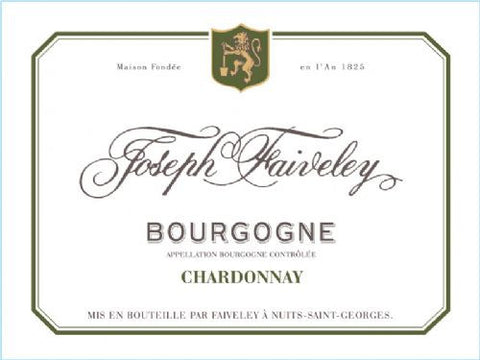 Bourgogne Chardonnay 'Joseph Faiveley' Case of 6