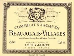 Beaujolais Villages Combe aux Jacques 12 Half Bottles