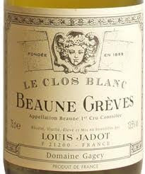 Beaune 1er Cru Les Greves Le Clos Blanc Case of 6