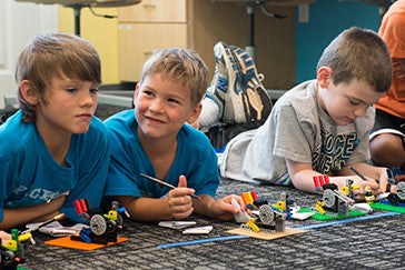 Students of all ages love our LEGO®-themed field trips!