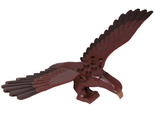 Eagle, Complete Assembly (Dark Brown Head and Tail Feathers) - (Gwaihir)