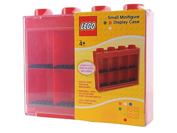 Minifigure Display Case, Small (For 8 Minifigures)