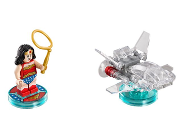DC Comics Wonder Woman and Invisible Jet