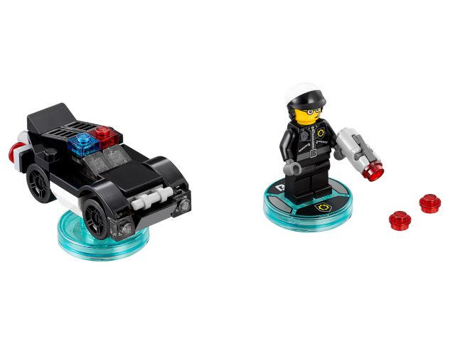 The LEGO Movie Bad Cop and Police Car