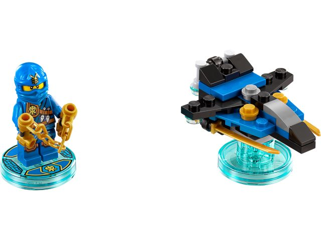 Ninjago Jay and Storm Fighter