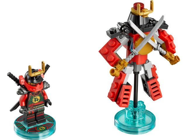 Ninjago Nya and Samurai Mech