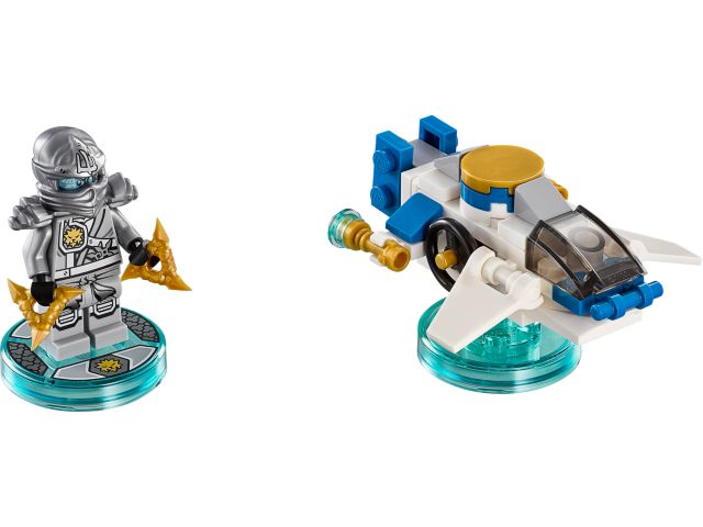 Ninjago Zane and NinjaCopter