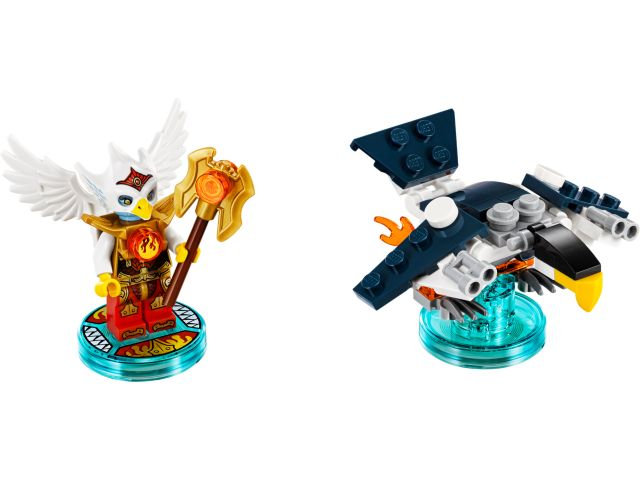 Legends of Chima Eris and Eagle Interceptor