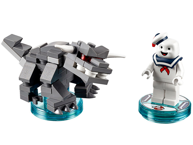 Ghostbusters Stay Puft and Terror Dog