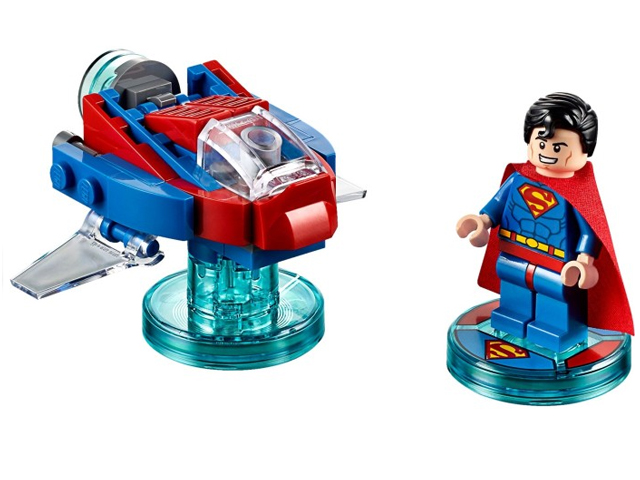 DC Comics Superman and Hover Pod