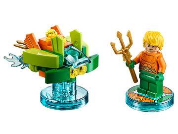 DC Comics Aquaman and Aqua Watercraft