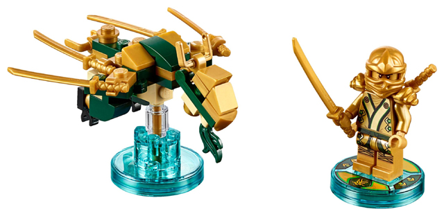 Ninjago Lloyd and Golden Dragon