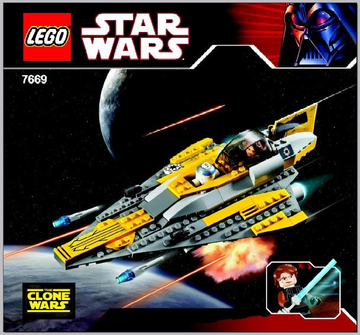 (Instructions) Anakin's Jedi Starfighter