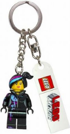 The Lego Movie Wyldstyle Key Chain