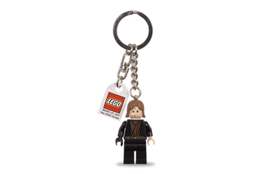 Anakin Skywalker with Black Right Hand Key Chain with Lego Logo Tile