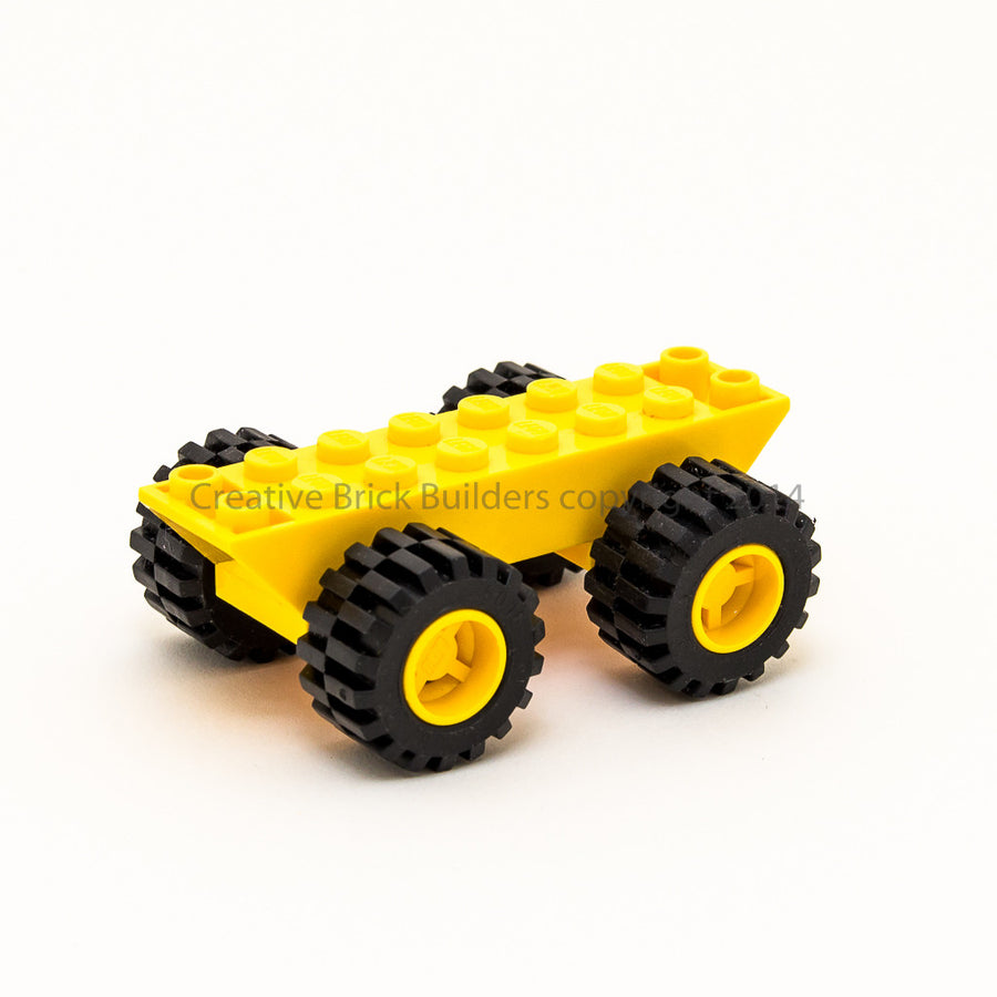 Small Chassis Base + Wheels (set of 4)