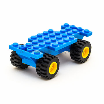 Medium Chassis Base + Wheels with small axles (set of 4)