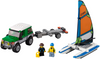 LEGO Set-4×4 with Catamaran-Town / City / Recreation-60149-1-Creative Brick Builders
