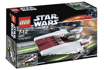 LEGO Set-A-wing Fighter (2006)-Star Wars / Star Wars Episode 4/5/6-6207-4-Creative Brick Builders