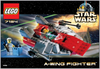 LEGO Set-A-Wing Fighter-Star Wars / Star Wars Episode 4/5/6-7134-1-Creative Brick Builders